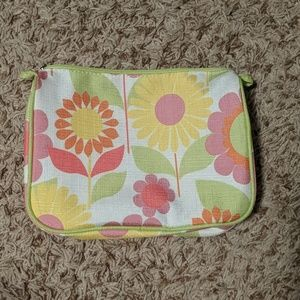 Clinique Floral Makeup Bag